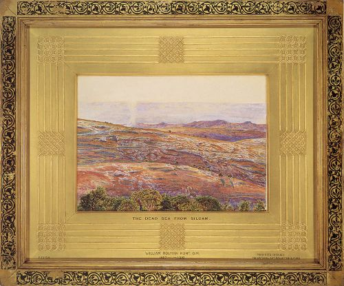 The Dead Sea from Siloam by William Holman Hunt