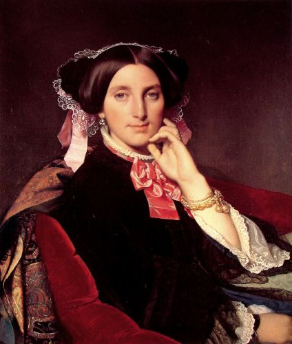 Madame Henri Gonse by Jean Auguste Dominique Ingres