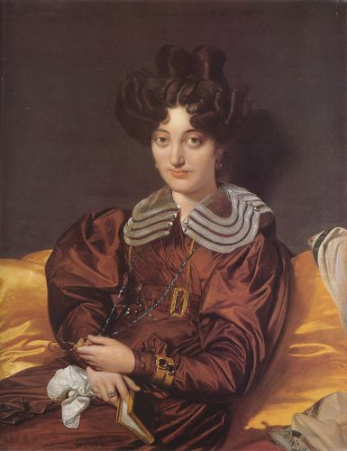 Madame Marie Marcotte by Jean Auguste Dominique Ingres