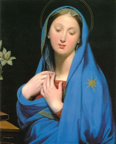 Virgin of the Adoption by Jean Auguste Dominique Ingres