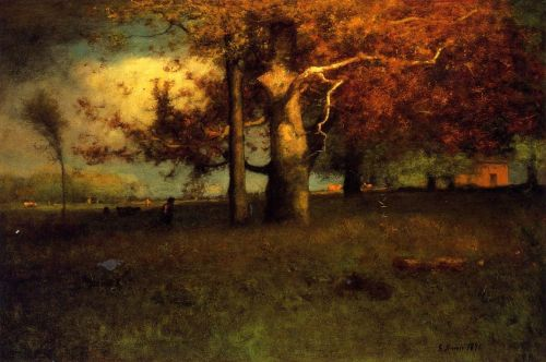 Early Autumn, Montclair by George Innes