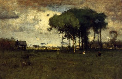 Georgia Pines - Afternoon by George Innes