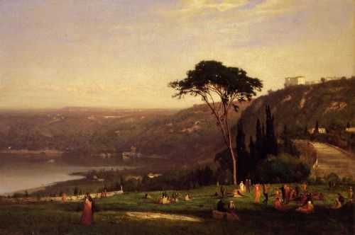 Lake Albano by George Innes