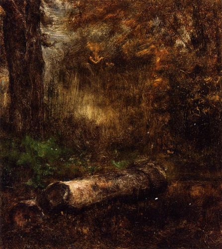 The Log by George Innes