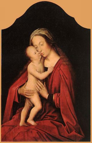 Virgin and Child by Adrien Isenbrant