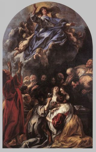 Assumption of the Virgin by Jacob Jordaens