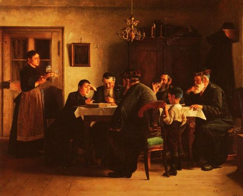 Discussing The Talmud by Isidor Kaufmann