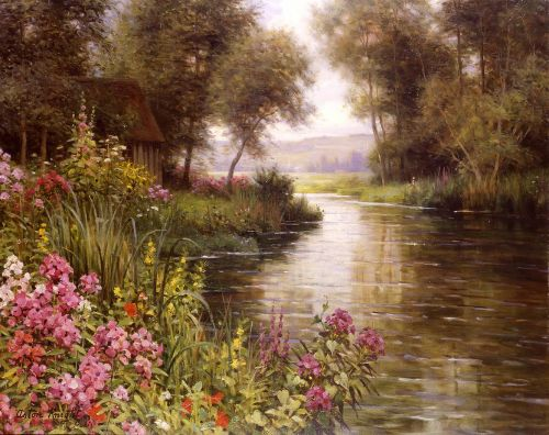 Flower by the Edge of the River by Louis Aston Knight