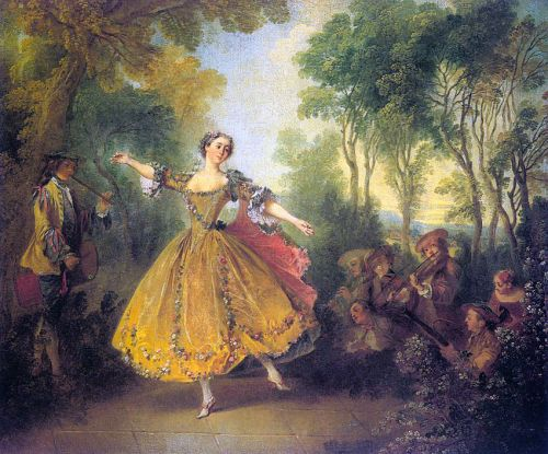 The Dancer Camargo by Nicolas Lancret