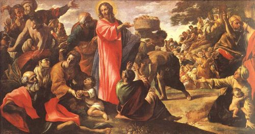 Miracle of the Bread and Fish by Giovanni Lanfranco