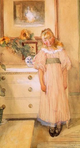Sunflowers by Carl Larsson