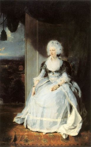 Queen Charlotte by Thomas Lawrence