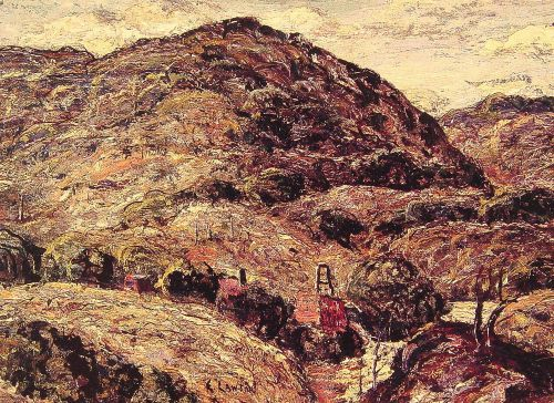 Mountain Landscape by Ernest Lawson