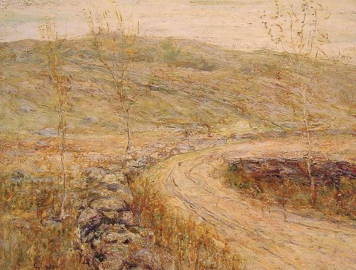Road in Spring by Ernest Lawson