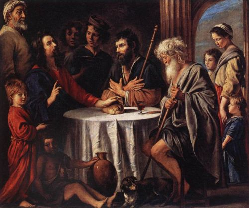 The Supper at Emmaus by Le Nain Brothers