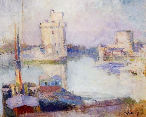 La Rochelle, the Port by Albert Lebourg