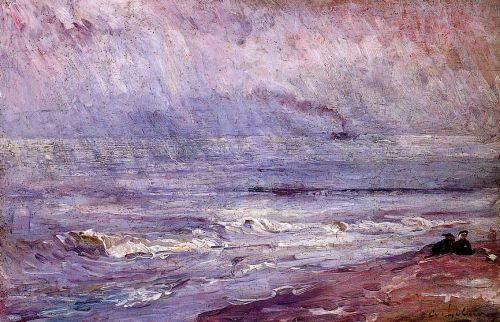 Seascape by Albert Lebourg