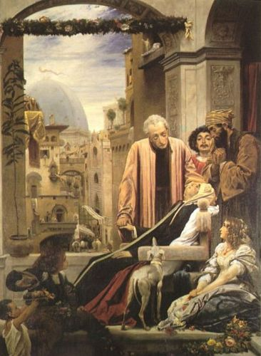 The Death of Brunelleschi by Frederick Leighton
