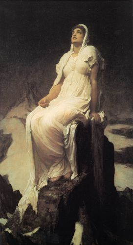 The Spirit of the Summit by Frederick Leighton