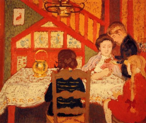 Family Gathering in Saint-Idesbald by Georges Lemmen