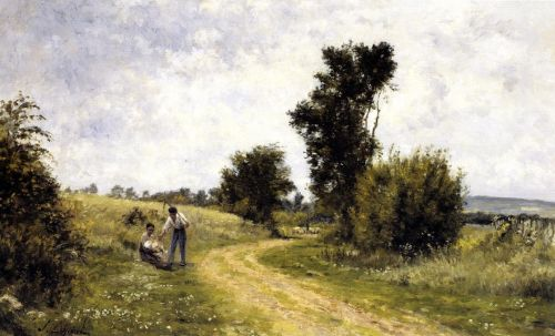 Country Road by Stanislas Lépine