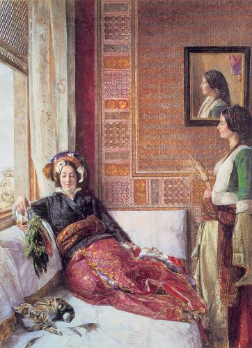 Harem Life in Constantinople by John Frederick Lewis