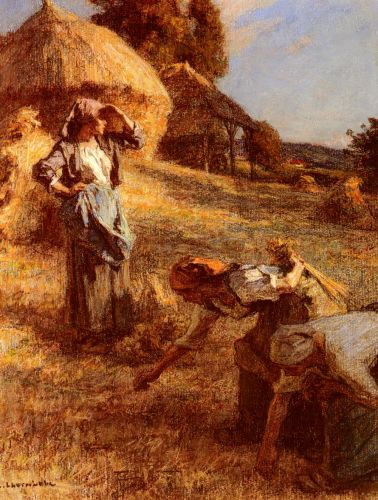 Haymakers by Leon Augustin Lhermitte
