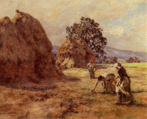 The Gleaners by Leon Augustin Lhermitte