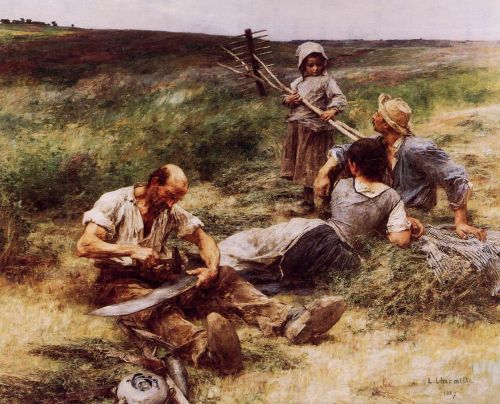 The Haymakers by Leon Augustin Lhermitte
