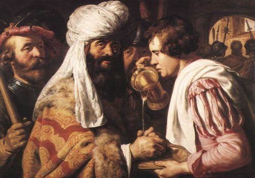 Pilate Washing his Hands by Jan Lievens