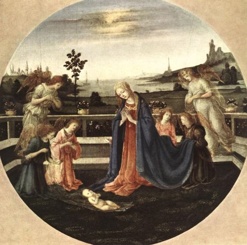 Adoration of the Child by Filippino Lippi