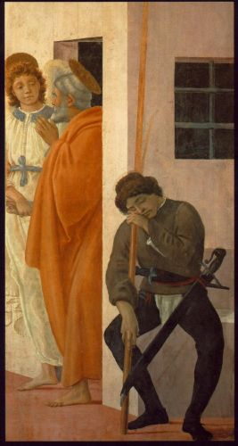 St Peter Freed from Prison by Filippino Lippi