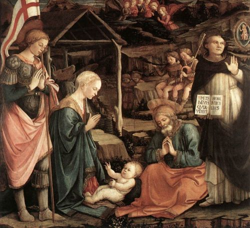 Adoration of the Child with Saints by Frà Filippo Lippi