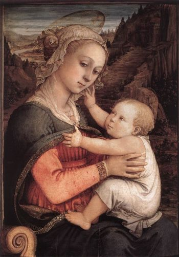 Madonna and Child by Frà Filippo Lippi