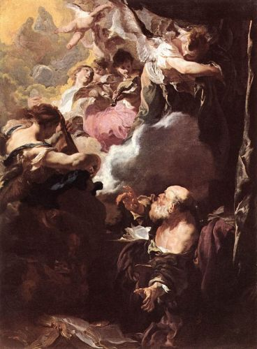 The Ecstasy of St Paul by Johann Liss