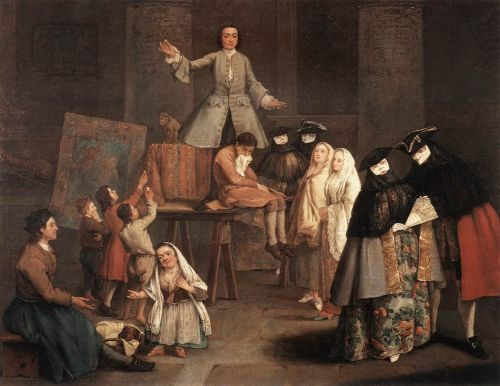 The Tooth Puller by Pietro Longhi