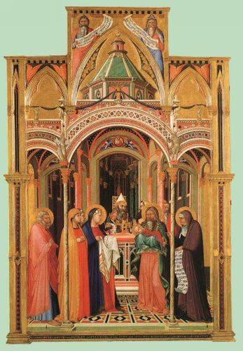 The Presentation in the Temple by Ambrogio Lorenzetti