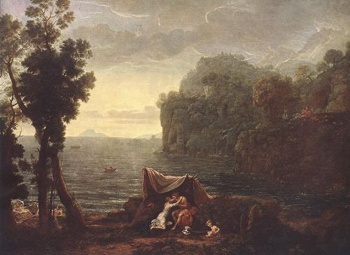 Landscape with Acis and Galathe by Claude Lorrain