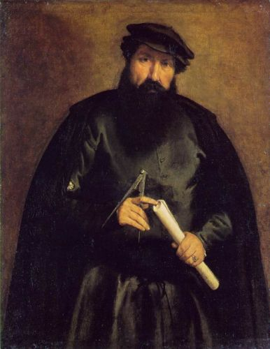 Architect by Lorenzo Lotto