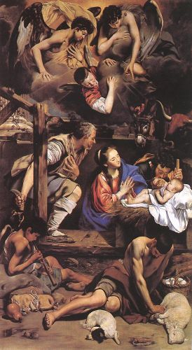 Adoration of the Shepherds by Juan Bautista Mayno
