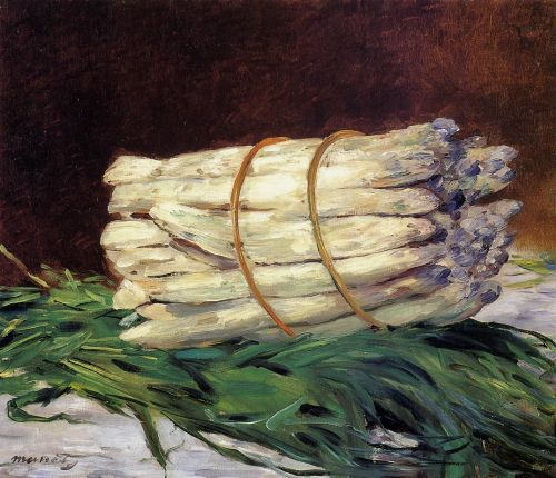 A Bunch of Asparagus by Edouard Manet
