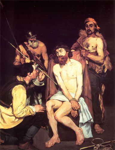 Jesus Mocked by the Soldiers by Edouard Manet