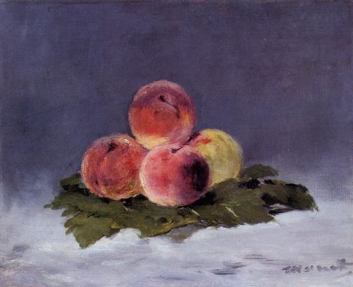Peaches by Edouard Manet