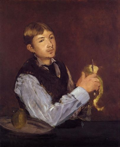 Portrait of Leon Leenhoff by Edouard Manet