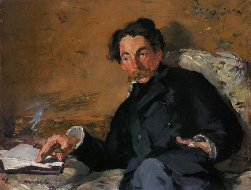 Portrait of Stephane Mallarme by Edouard Manet