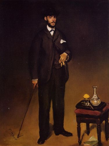 Portrait of Theodore Duret by Edouard Manet