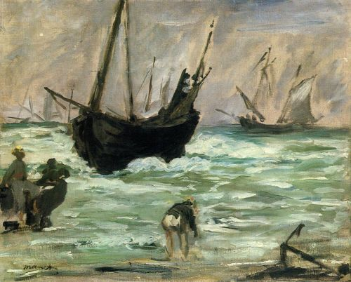 Seascape by Edouard Manet