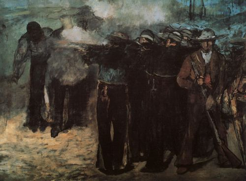Study for 'Execution of the Emperor Maximilian' by Edouard Manet