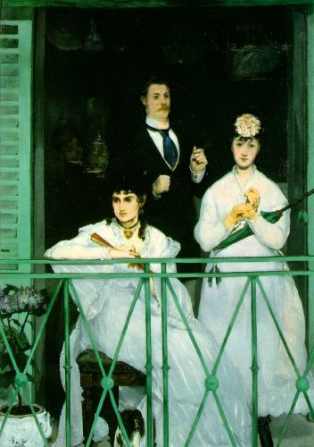The Balcony, 1868-1869 by Edouard Manet