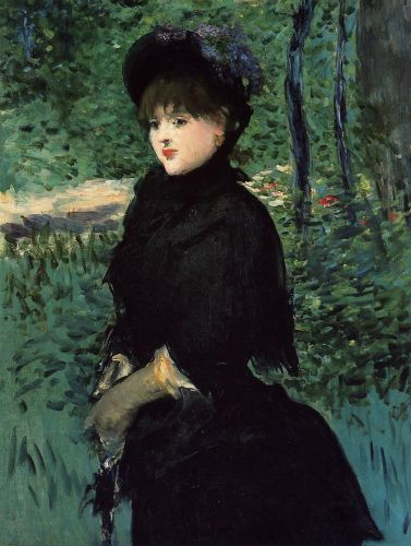 The Promenade by Edouard Manet